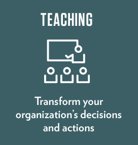 Transform your organization's decisions and actions