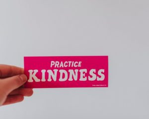 conscious choice to be kind