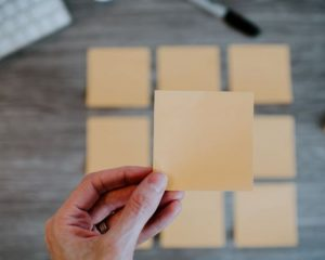 Put down the post-its if you want to connect